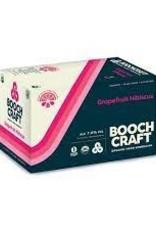 Boochcraft Hard Kombucha Grapefruit Hibiscus Cans 6pk - 12oz