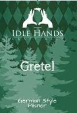 """Idle Hands """"Gretel"""" German Pilsner Cans 4pk - 16oz"""