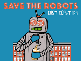 """Radiant Pig """"Save the Robots"""" East Coast IPA Case Cans 6/4pk - 16oz"""