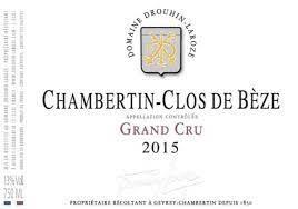 Drouhin Laroze Chambertin Clos de Beze Grand Cru 2015 - 750ml