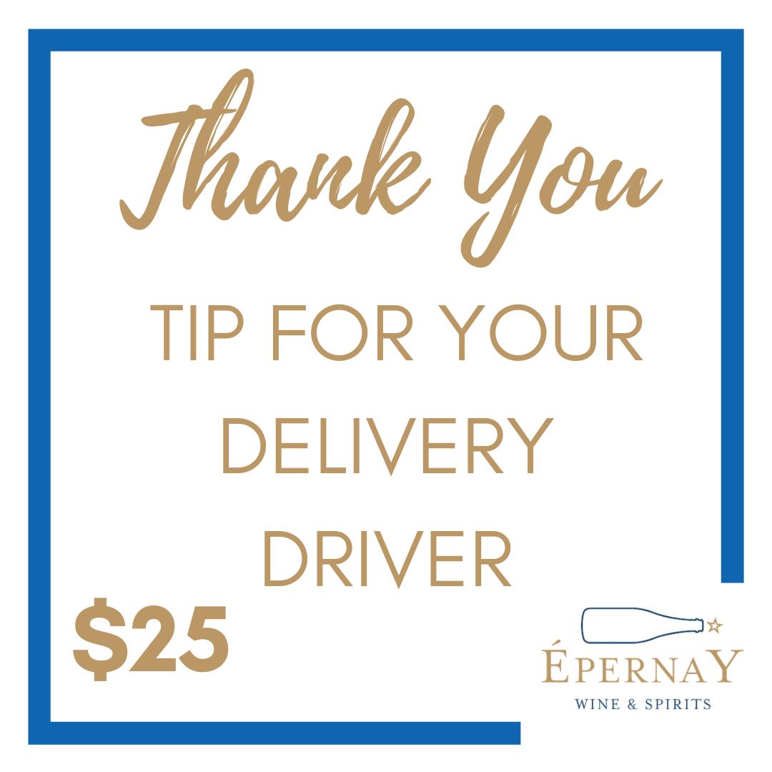 Driver Tip - $25