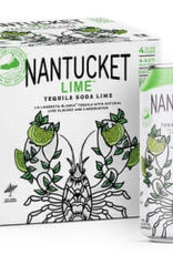 "Triple Eight ""Nantucket Lime"" Tequila Soda Case Cans 6/4pk"