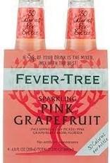 Fever Tree Sparkling Pink Grapefruit Water Case 6/4pk - 6.8oz