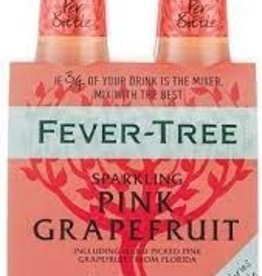 Fever Tree Sparkling Pink Grapefruit Water 4pk - 6.8oz