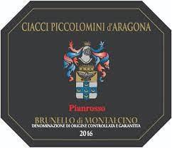 Ciacci Piccolomini Brunello di Montalcino 2016 - 750ml