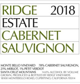 Ridge Cabernet Sauvignon 2018 - 750ml