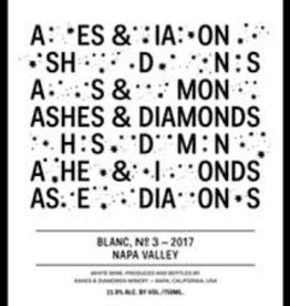 "Ashes & Diamonds Blanc ""No. 3"" 2017 - 750ml"