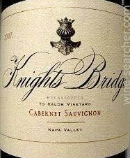 "Knights Bridge Estate Cabernet Sauvignon ""Beckstoffer To Kalon Vineyard"" Napa Valley 2013 - 750ml"
