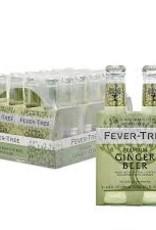Fever Tree Refreshingly Light Ginger Beer Case 6/4pk - 6.8oz