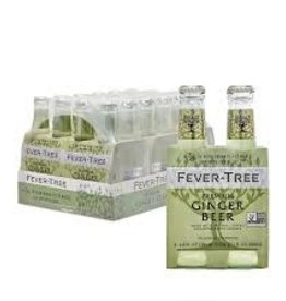 Fever Tree Refreshingly Light Ginger Beer Case 6/4pk - 6.8oz