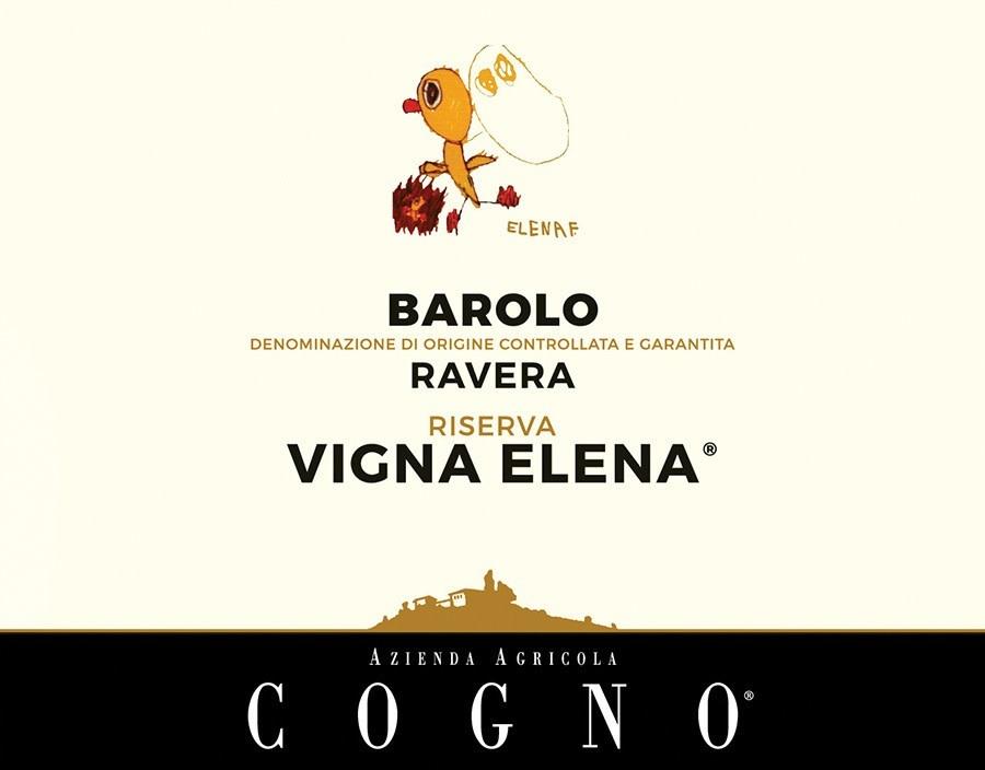 """Elvio Cogno Barolo Riserva """"Vigna Elena"""" 2014 - 750ml"""