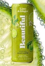 Beautiful Drinks Sparkling Margarita Cans 4pk - 355ml