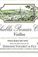 """Domaine Vocoret  & Fils Chablis 1er Cru """"Vaillon"""" 2018 - 750ml"""