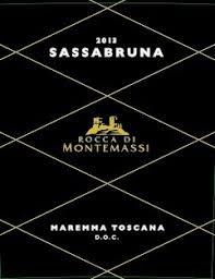 """Rocca di Montemassi """"Sassabruna"""" Maremma Toscana 2017 - 750ml"""