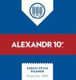 "Schilling ""Alexandr 10"" Czech Style Pilsner Case Cans 6/4pk - 16oz"