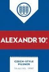 """Schilling """"Alexandr 10"""" Czech Style Pilsner Cans 4pk - 16oz"""