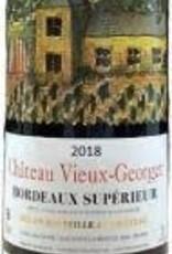 Chateau Vieux Georget Bordeaux Superior  2018 - 750ml