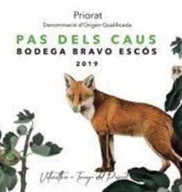 """Bodega Bravo Escos Priorat Tinto """"Pas Dels Caus"""" 2019 - 750ml"""