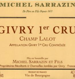 "Domaine Michel Sazarin Givry Rouge 1er Cru ""Champ Lalot"" 2019 - 750ml"