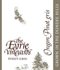 Eyrie Vineyards Dundee Hills Pinot Gris 2018 - 750ml