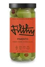 Filthy Pimento Stuffed Olives Jar 8 oz