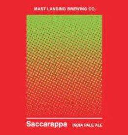 """Mast Landing """"Saccarappa"""" IPA Cans 4pk - 16oz"""