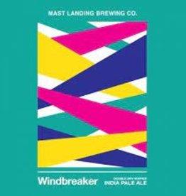 """Mast Landing """"Windbreaker"""" NEIPA Case Cans 6/4pk - 16oz"""