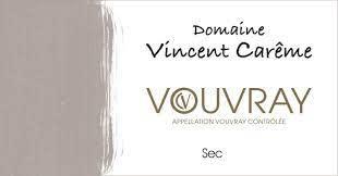 Domaine Vincent Careme Vouvray Sec 2018 - 750ml
