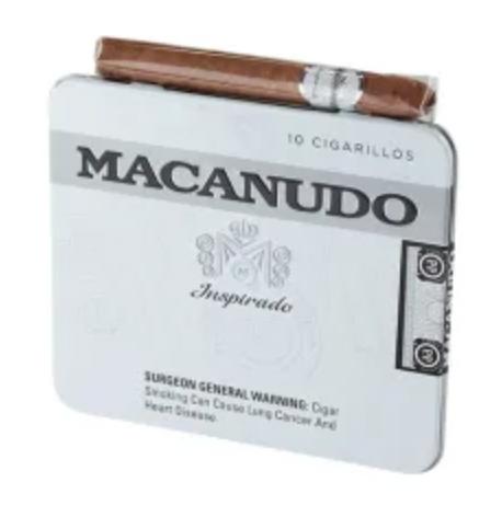 Macanudo Inspirado White Cigarillos Tin - 10 pk