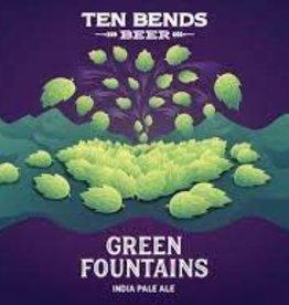 Ten Bends Green Fountains NEIPA Case Cans 6/4pk - 16oz