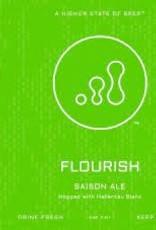 """Progression Brewing """"Flourish"""" Saison Case Cans 6/4pk - 16oz"""