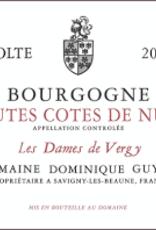 """Antonin Guyon Bourgogne Haut Cotes de Nuits """"Les Dames de Vergy"""" 2017 - 750ml"""