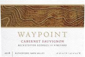 """Waypoint Cabernet Sauvignon """"Beckstoffer Geroges III Vineyard"""" 2018 - 750ml"""