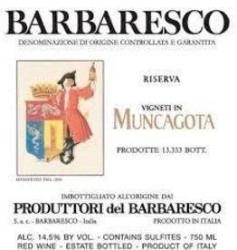 "Produttori del Barbaresco Barbaresco ""Muncagota"" 2016 - 750ml"