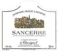 Domaine Serge Laporte Sancerre 2019 - 750ml
