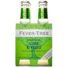Fever Tree Lime & Yuzu Case 6/4pk - 6.8oz