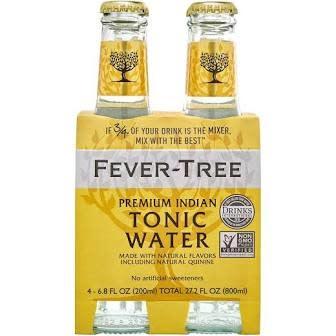 Fever Tree Tonic Water 4pk - 6.8oz