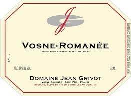 Jean Grivot Vosne Romanee 2018 - 750ml