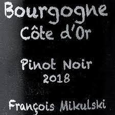 Francois Mikulski Bourgogne Rouge 2018 - 750ml