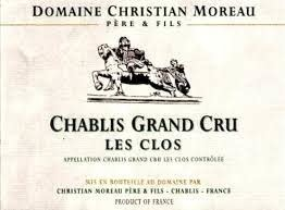 "Christian Moreau Chablis ""Les Clos"" Grand Cru 2018 - 750ml"