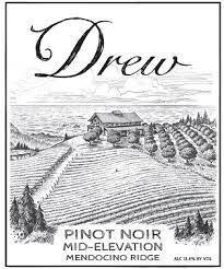 "Drew Estate Pinot Noir ""Mid Elevation"" Mendocino Ridge 2019 - 750ml"