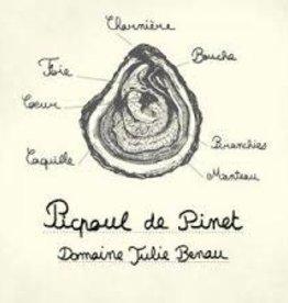 Julie Benau Picpoul di Pinet 2020 - 750ml