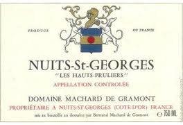 """Machard de Gramont Nuits St. Georges """"Les Hauts Prullieres"""" 2017 - 750ml"""