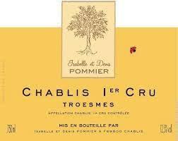 "Isabelle et Dennis Pommier Chablis 1er Cru ""Troesmes"" 2016 - 750ml"