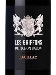 Les Griffons Pichon Longueville Baron 2015 - 750ml
