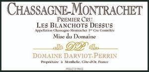"Domaine Darviot Perrin Chassagne Montrachet 1er Cru ""Les Blanchots Dessus"" 2017 - 750ml"