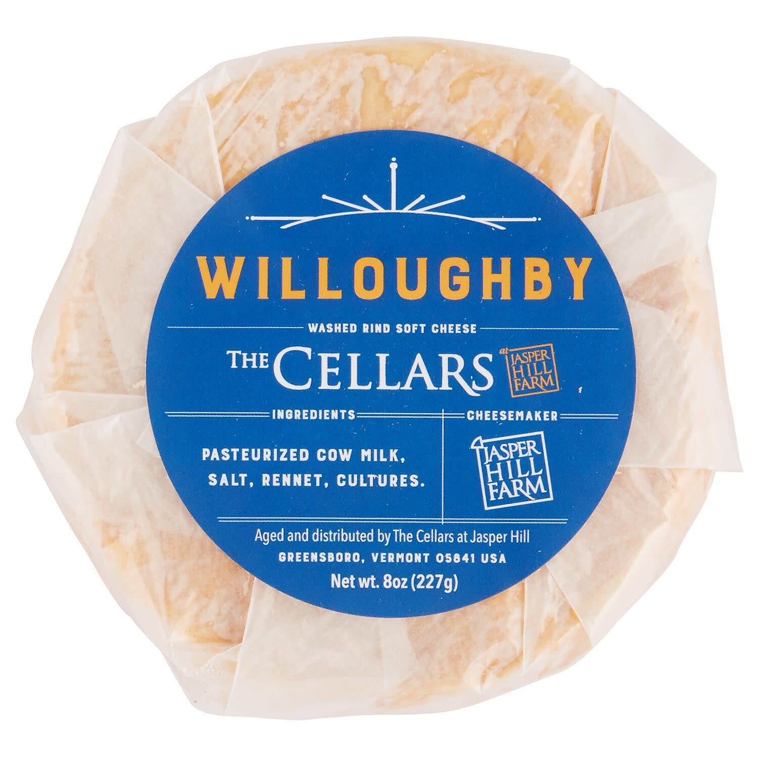 Jasper Hill Willoughby Cheese 8 oz
