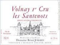 "Domaine Remy Jobard Volnay 1er Cru ""Santenots"" 2019 - 750ml"