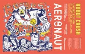 "Aeronaut ""Robot Crush"" Pilsner Case Cans 6/4pk - 16oz"