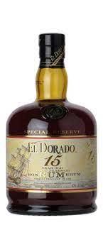 El Dorado 15 Year Old Rum 750ml
